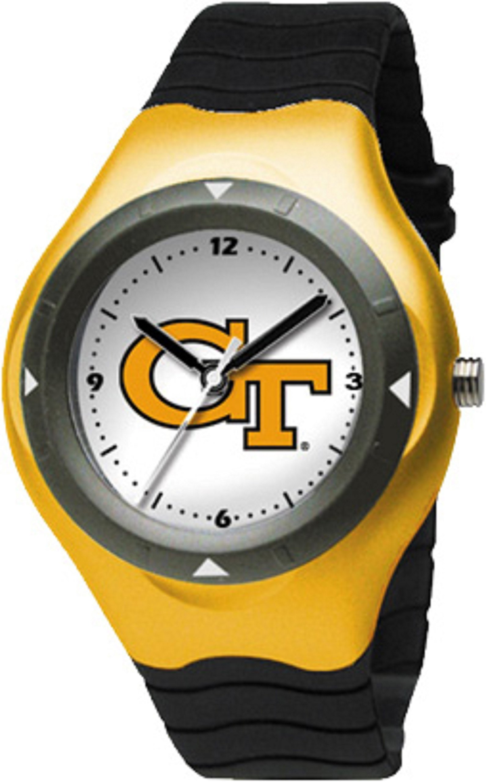 GEORGIA TECH YELLOW JACKETS watch for boy's ladies / youth unisex justable Band 5 3/4 TO 8 free shipping by Georgia Tech