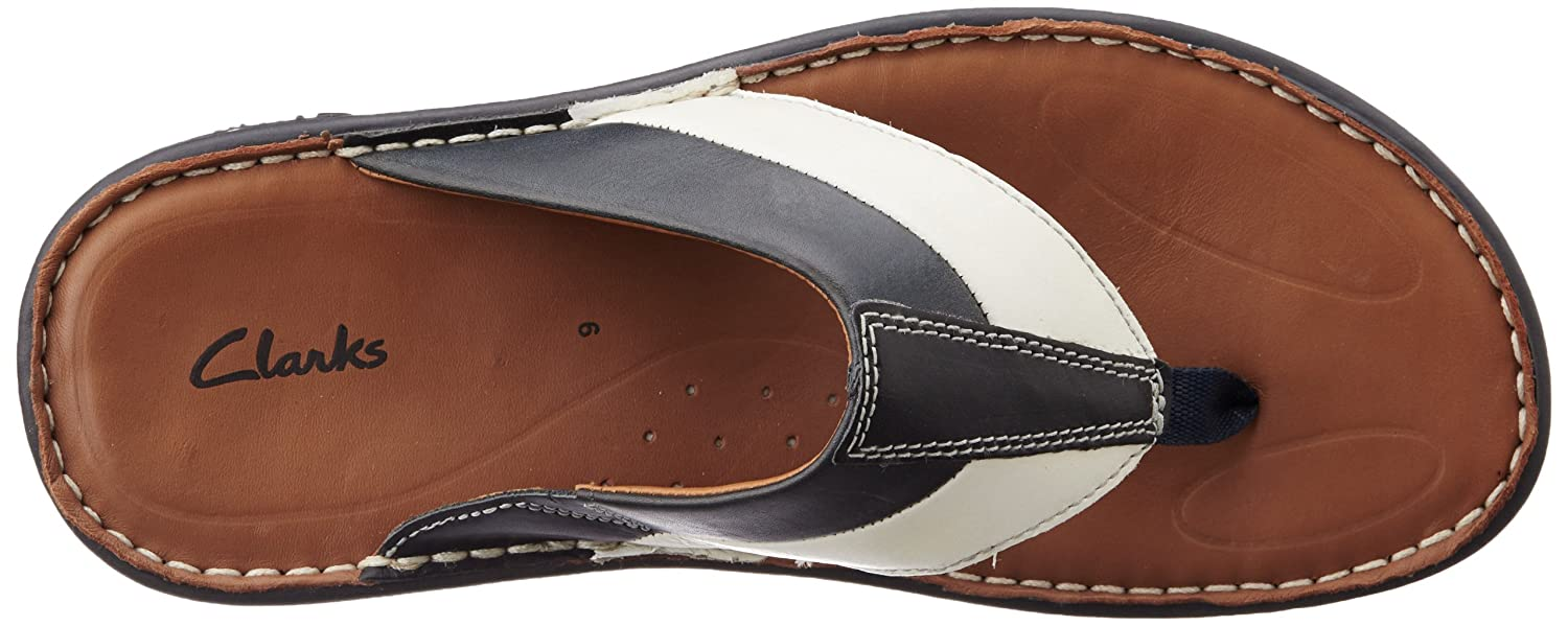 93682ce54 Clarks Men s Villa Beach Leather Sandals and Floaters  Buy Online at Low  Prices in India - Amazon.in