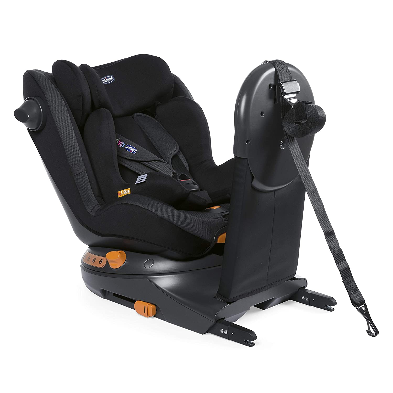 Chicco 8079189510000 Around U i-size Sillas de Auto con Sistem de Rotaci/ón 360 0 Meses + Jet Black Negro
