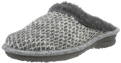 Rohde Emden, Damen Pantoffeln, Grau (Grau 80), 38 EU