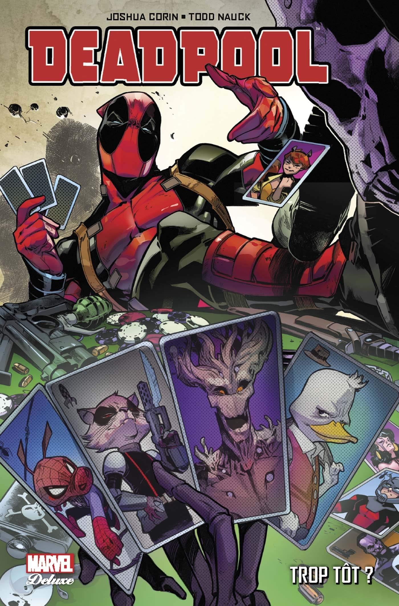 deadpool tue heros marvel