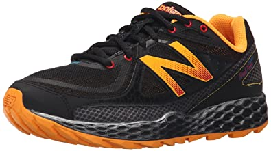 New Balance Men's Fresh Foam Hierro Trail Running Shoe, Black/Orange, ...