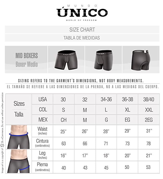 Mundo Unico Underwear for Men Cotton Medium Boxer Briefs Ropa Interior de Hombre at Amazon Mens Clothing store: