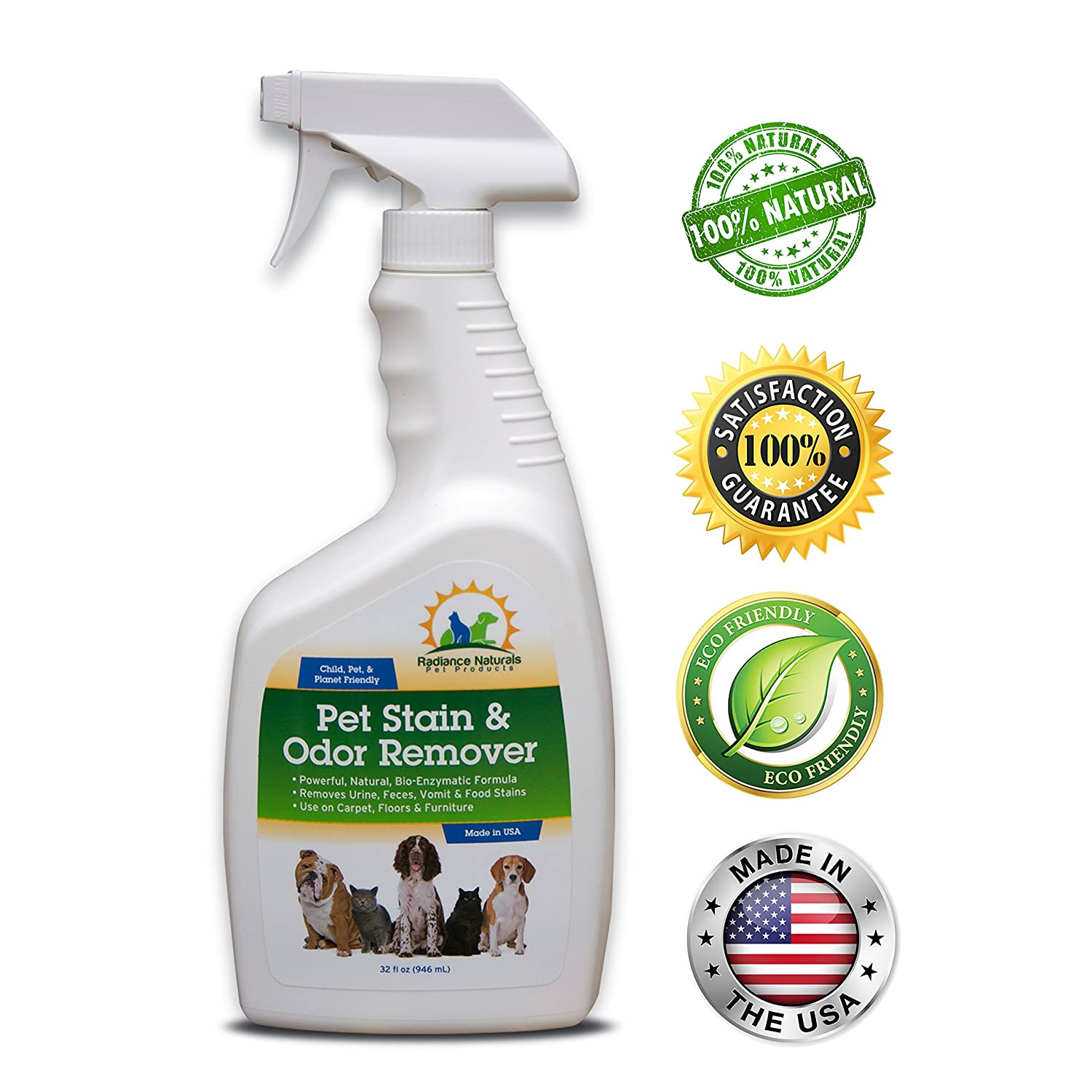 Radiance Naturals Pet Stain and Odor Remover