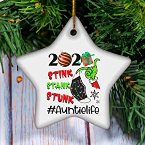 selltoxyz Stink Stank Stunk Auntie Life The Grin-ch Family Matching Group Christmas Holiday Season