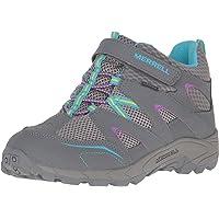 MERRELL Girls' Ml-Hilltop Qc Waterproof High Rise Hiking Boots