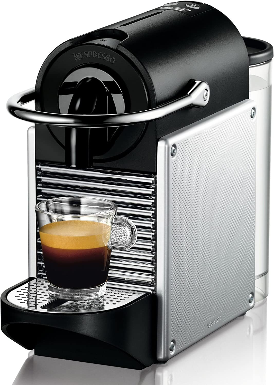 DeLonghi - Nespresso Pixie En 125S, Cafetera De Cápsulas, 19 Bares, , Apagado Automático, Ergonómica, Inteligente ...