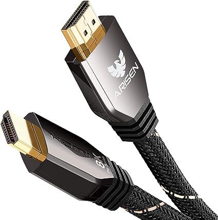 1,5m 8K HDMI Kabel 2.1 UHD 48G 8K@60Hz 4K@120Hz 1080p@240Hz HDR ARC DTS PS5 XBOX