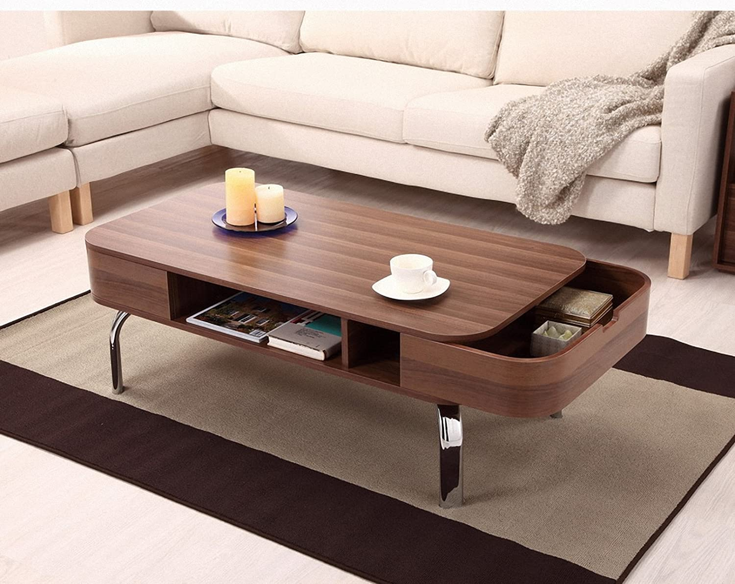 Details. Contemporary, Minimalist Design Luxer Coffee Table ...