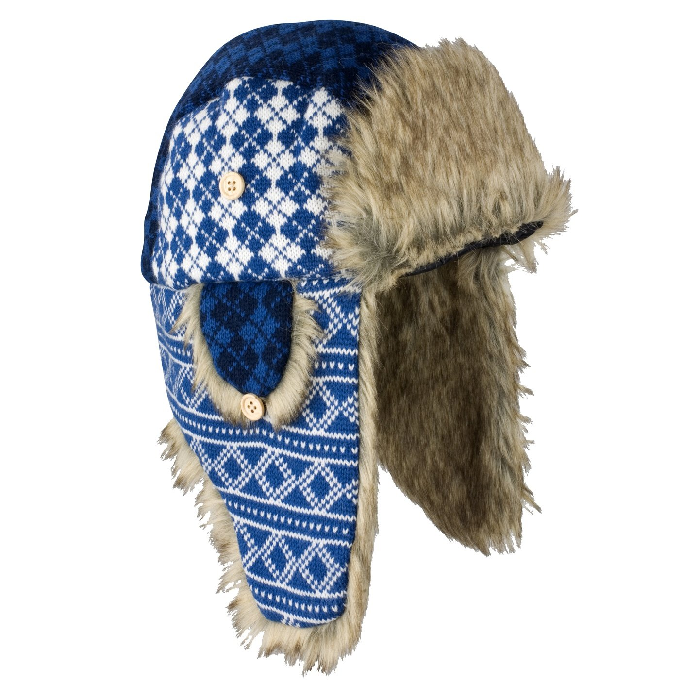 Result Unisex Mens/Womens Polar Max Sherpa Thermal Trapper Hat