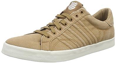 3258a515b956 K-Swiss Men s BELMONT T Low-Top Sneakers Beige Size  7.5 UK (41.5 EU ...
