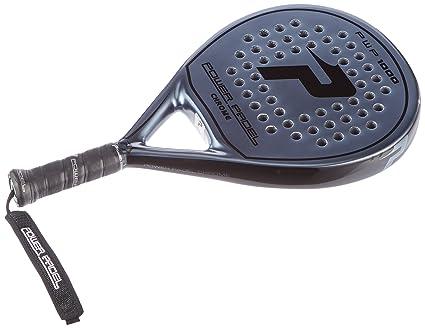 POWER PADEL 1000 Chrome Pala, Unisex Adulto, Negro, 38 mm: Amazon.es: Deportes y aire libre