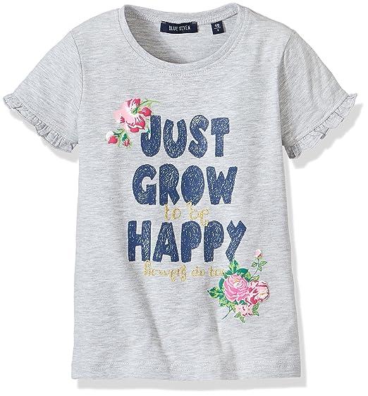 480f6528e62 Blue Seven Girl's T-Shirt RH, Grey (Nebel 920), 5 Years: Amazon.in ...
