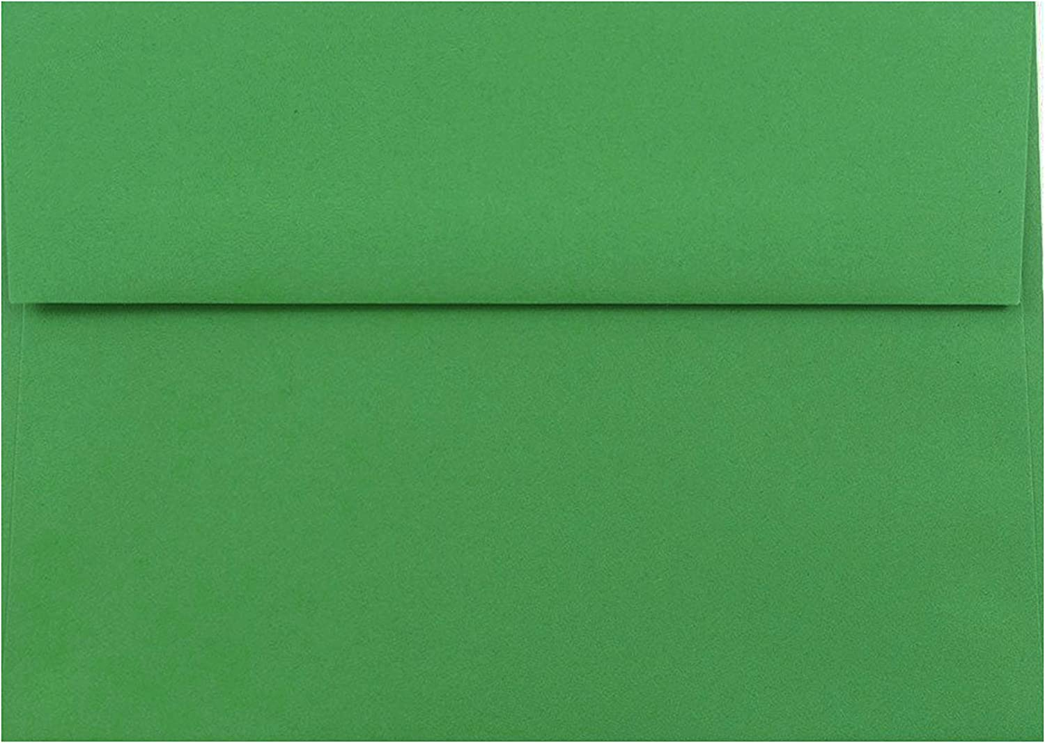3-5//8 X 5-1//8 Holiday Green 100 Boxed A1 Envelopes for 3-3//8 X 4-7//8 Response Enclosure Invitation Announcement Wedding Shower Communion Christening Cards The Envelope Gallery