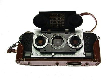 Amazon com : Realist c1951 Vintage Stereo 135 Film Camera in