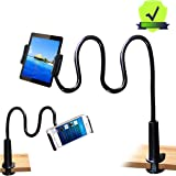 MAGIPEA Tablet Stand Holder, Mount Holder Clip with Grip Flexible Long Arm Gooseneck Compatible with ipad iPhone…