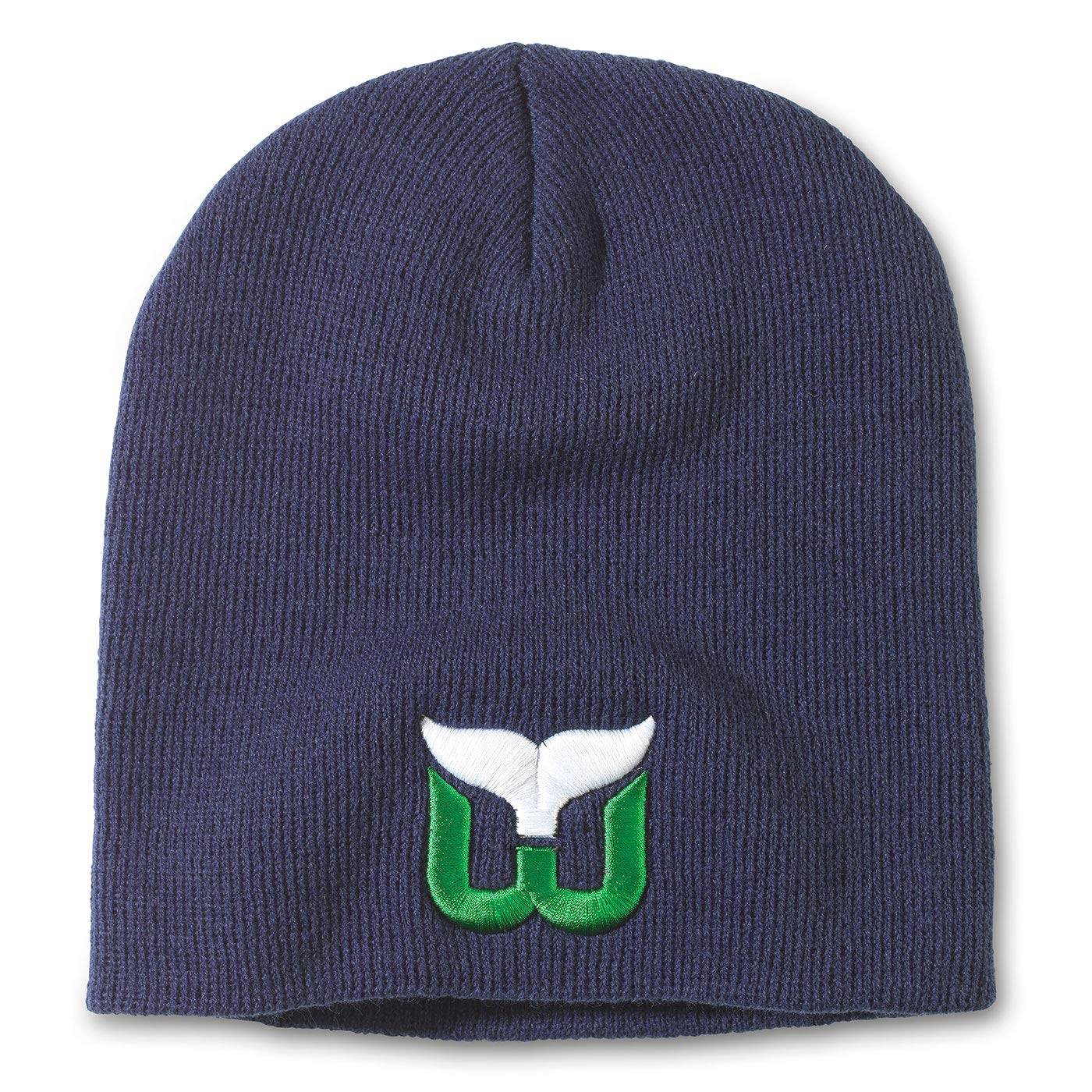 American Needle NHL Team Logo Basic Cuffless Beanie Knit Hat
