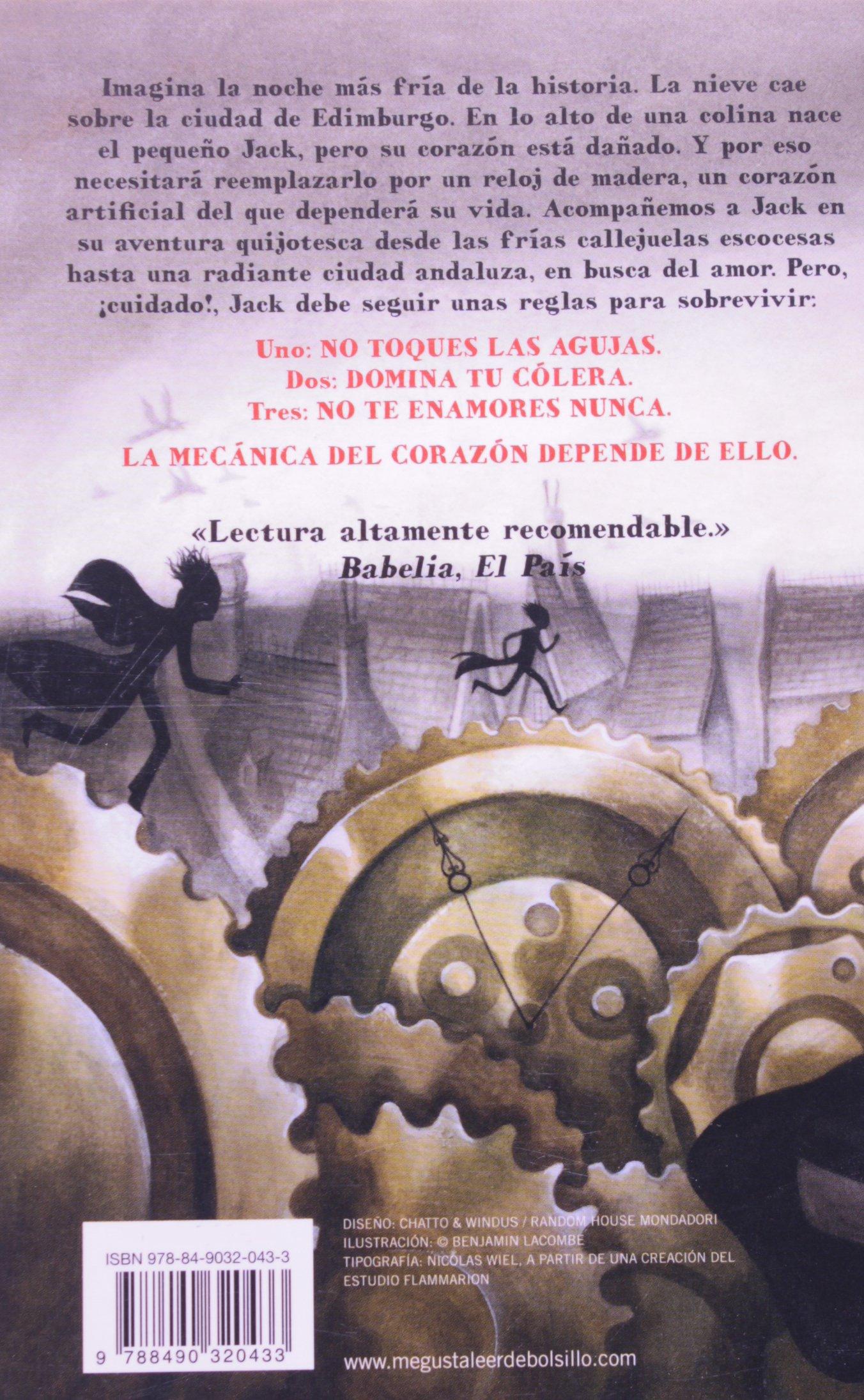 La mecánica del corazón: Mathias Malzieu: 9788490320433: Amazon.com: Books