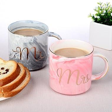 Seamersey Mr and Mrs Ceramic Mug Sets