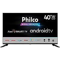 "Smart Android Google TV PHILCO 40"" TV PTV40G71AGBL LED - GLOBO PLAY- YOUTUBE"