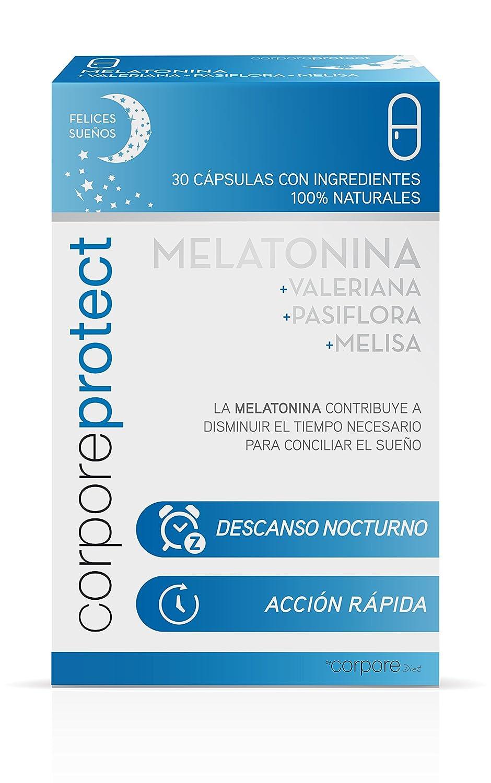 Corpore Protect Melatonina - 30 Cápsulas: Amazon.es: Salud y cuidado personal