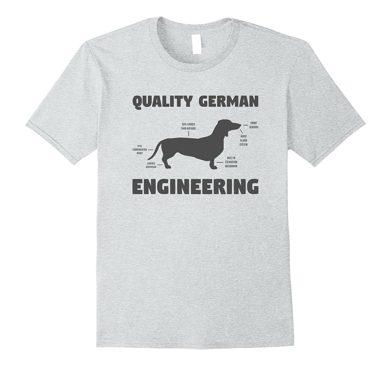 c95f51e47 German Engineering – Funny Weiner Dog Dachshund T-Shirt – Bgtee.com
