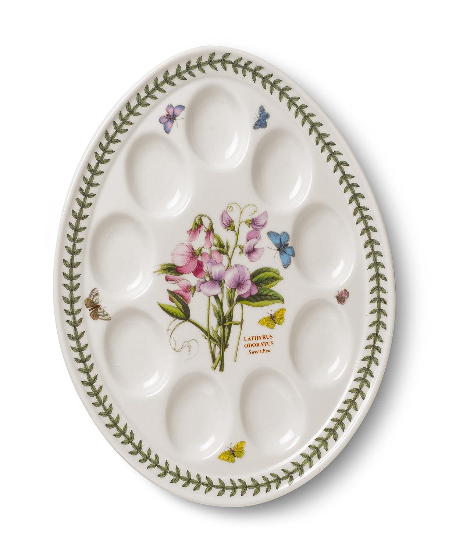 Portmeirion Botanic Garden Devilled Egg Dish 12-Inch 60508