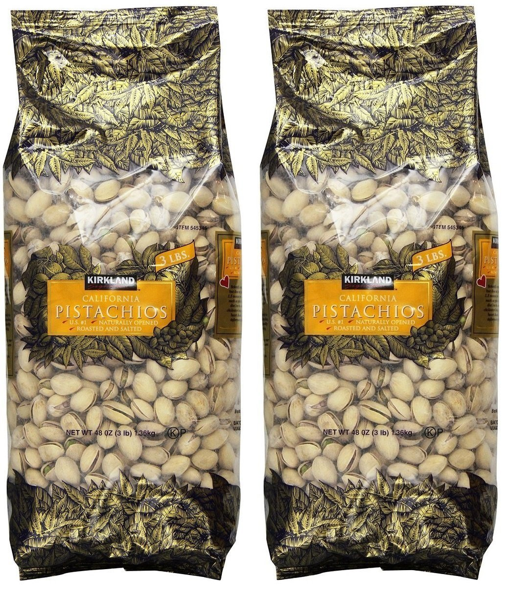 Signature In Shell Pistachios, 2 Pack (3 Pound)