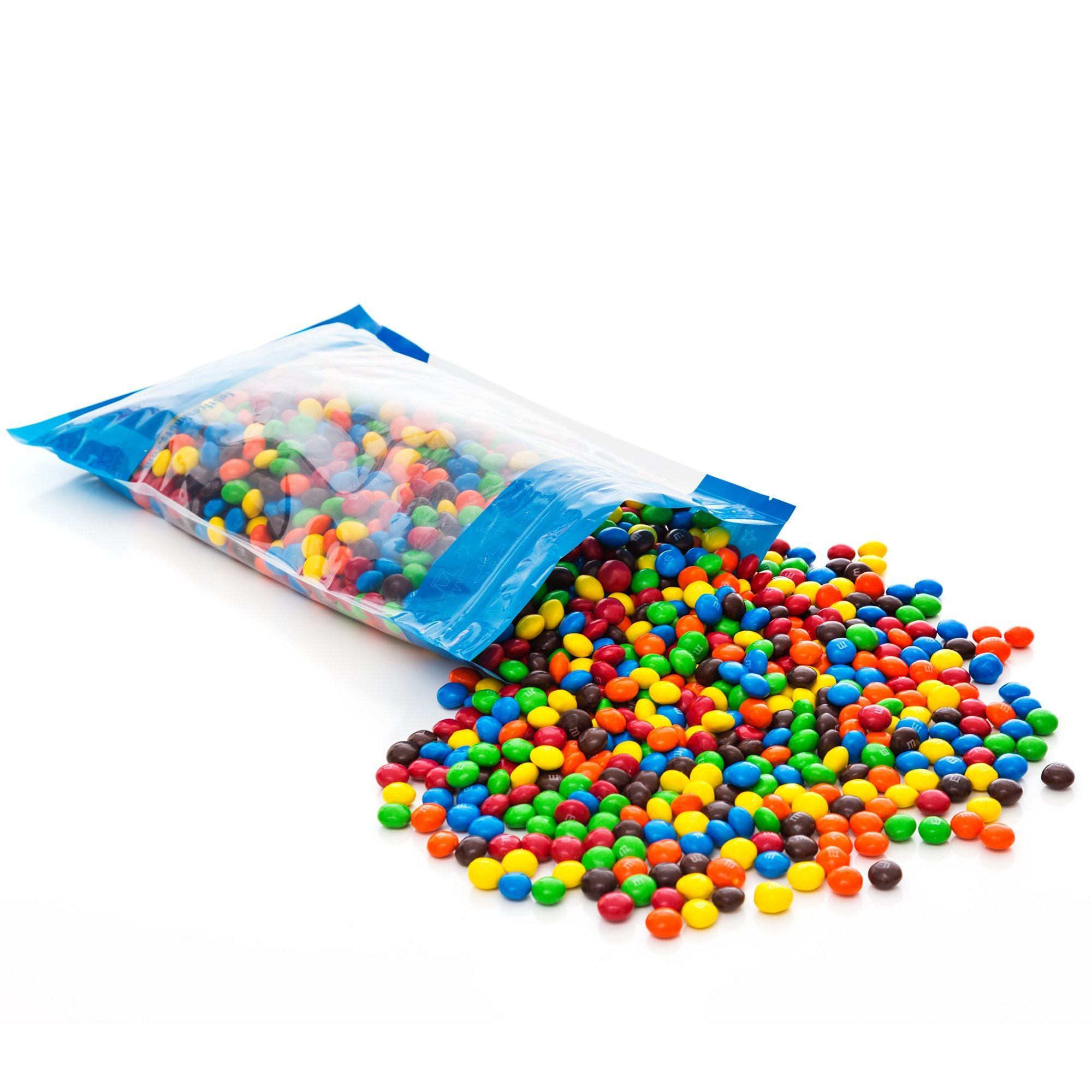 Bulk Peanut Butter M&Ms in Resealable Bomber Bag, Wholesale Peanut Candy Treats (5lb Bag) by Fast Fresh Nuts (Image #3)