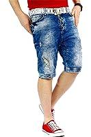 RedBridge Herren Jeans Shorts Capri Hose Bermuda Destroyed Dope Swag Streetwear Denim by Cipo Baxx