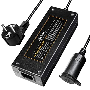 AstroAI Transformadores 220V a 12V Continuos 120W con Sistemas de ...