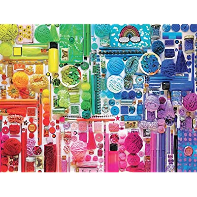 Ceaco 2939-1 Colorstory Rainbow Puzzle - 750Piece: Toys & Games