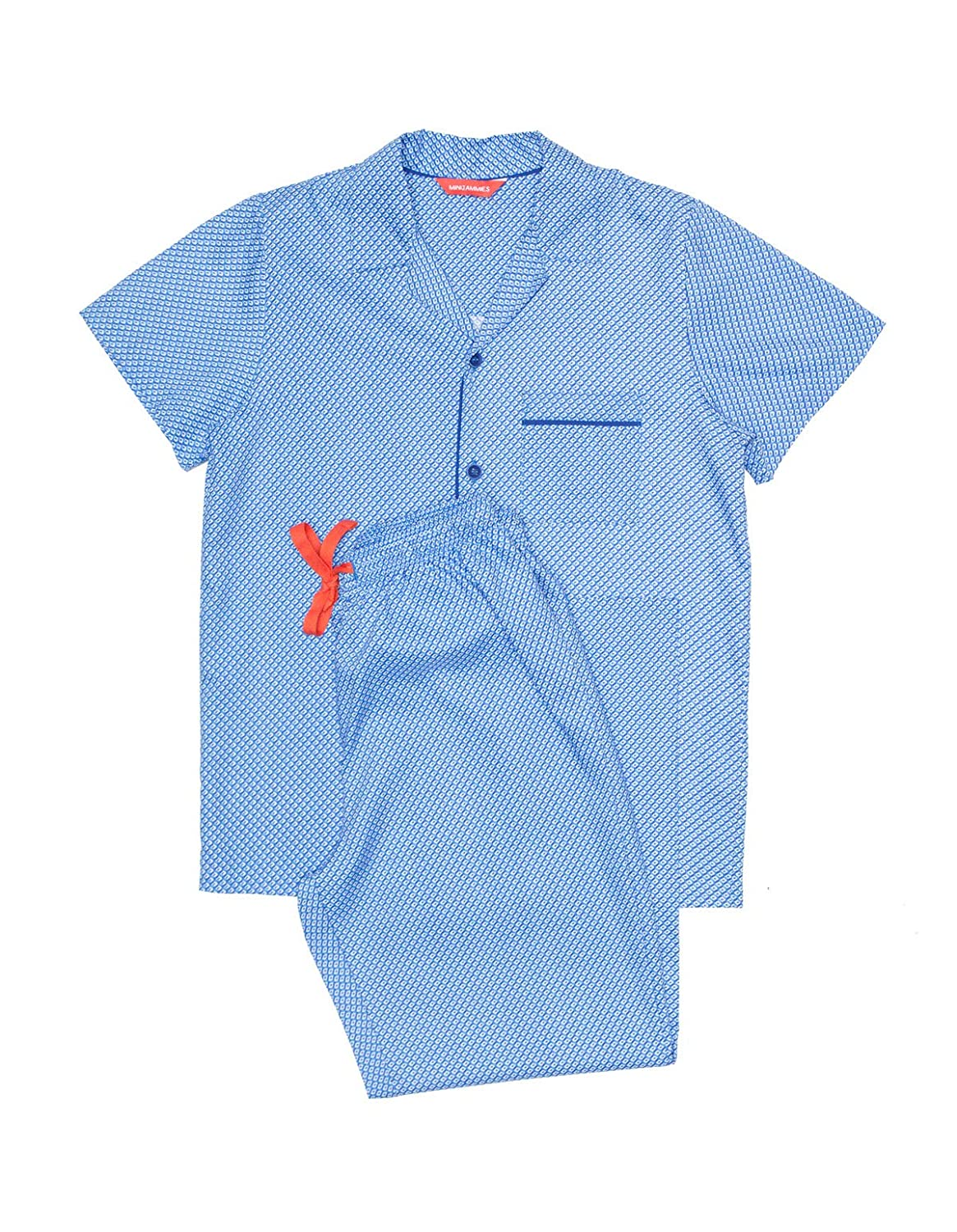 Minijammies 6365 Boys Oscar Blue Pyjama Set