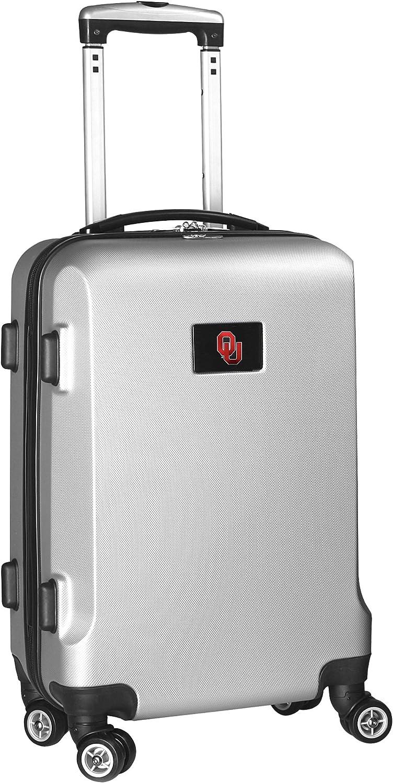 Denco NCAA Carry-On Hardcase Spinner Silver