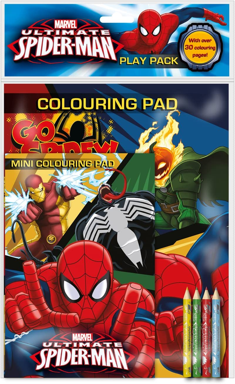 Anker spppk2 Ultimate Spiderman Play Pack: Amazon.es: Juguetes y ...
