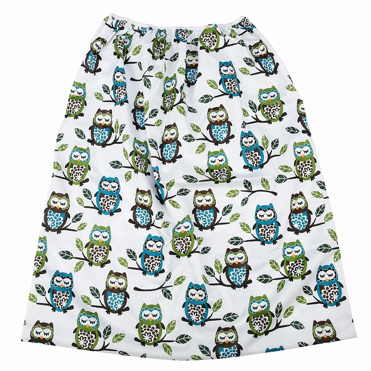 Reusable Cloth Pail Liner for Diaper or Laundry (Owl Tree) by Hibaby
