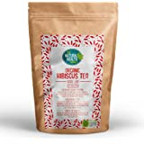 Organic Hibiscus Tea 200g By The Natural Health Market • Soil Association Certified