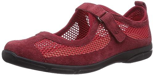 Romika Traveler 02 - zapatilla deportiva de piel mujer, color rojo, talla 39