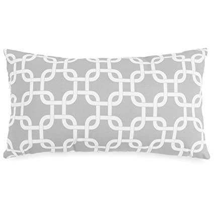 Amazon.com: Majestic Home Goods Enlaces 20 x 12 x 5 almohada ...
