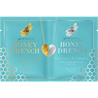 Fast Beauty Co. BFF Dive In Hydrating Gold & Silver Face Masks With Hyaluronic & Collagen, 2 Units
