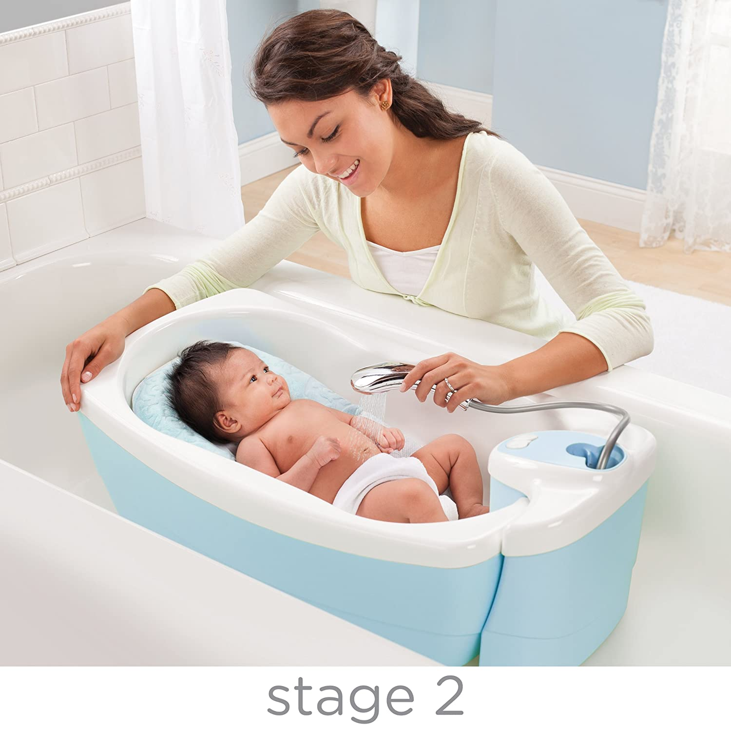 Summer Infant Lil Luxuries Whirlpool/Bubbling Spa and Shower (Old ...