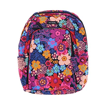 Image Unavailable. Image not available for. Color  Vera Bradley Laptop  Backpack ... cf21acbf93247