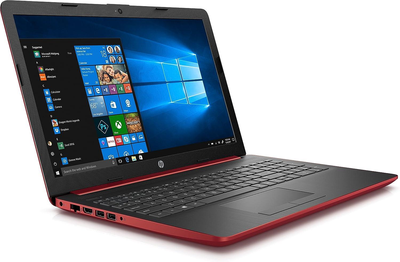 Ordenador portatil HP 15-DA0042NS rojo