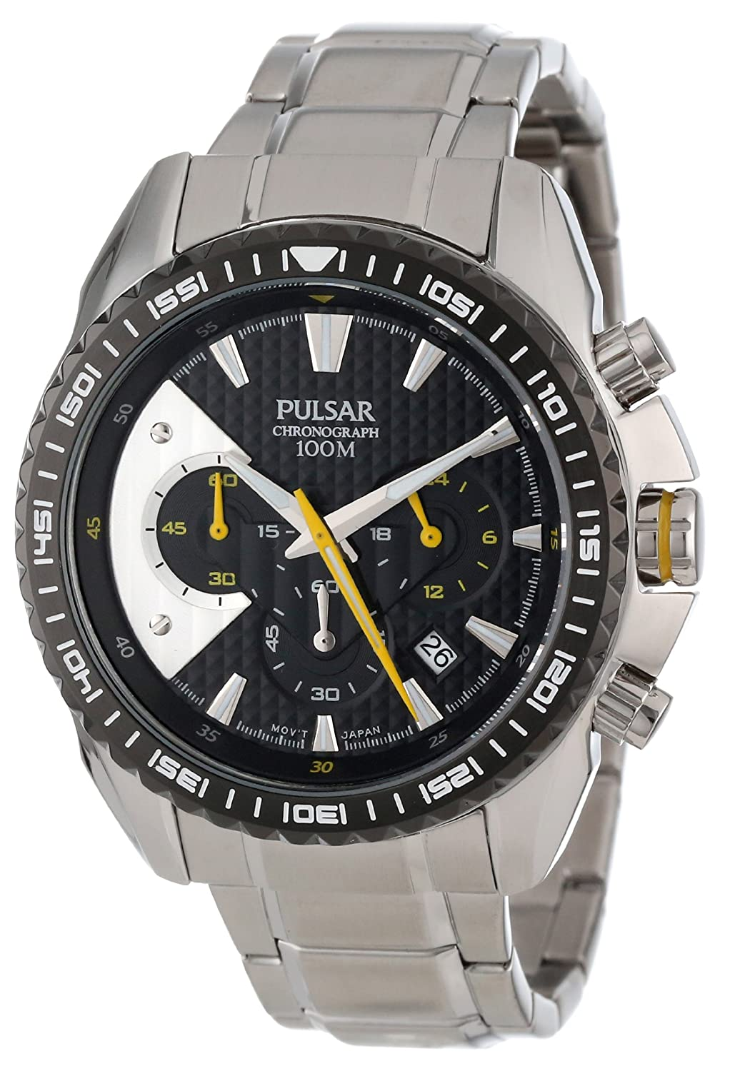 Pulsar Men s PT3271 Chronograph Collection Watch