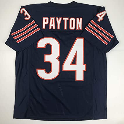 09a2c4abfee Unsigned Walter Payton Chicago Blue Custom Stitched Football Jersey Size XL  New No Brands/Logos