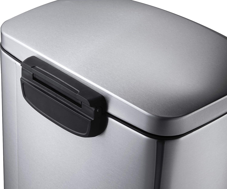 Amazon.com: EKO della de basura (, Mate S/S: Kitchen & Dining