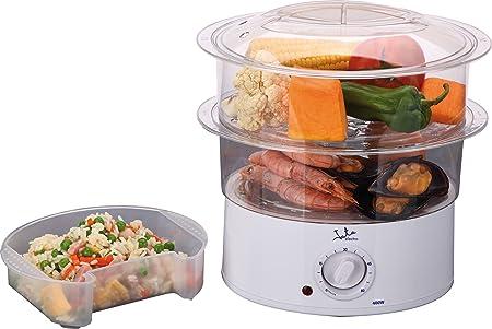 Jata Cv200 Cocina Al Vapor, 400 W, 0.5 litros, 0 Decibelios ...