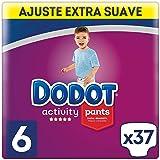Dodot Activity - Pants Pañal-Braguita Talla 6, Fácil de Cambiar con Canales de