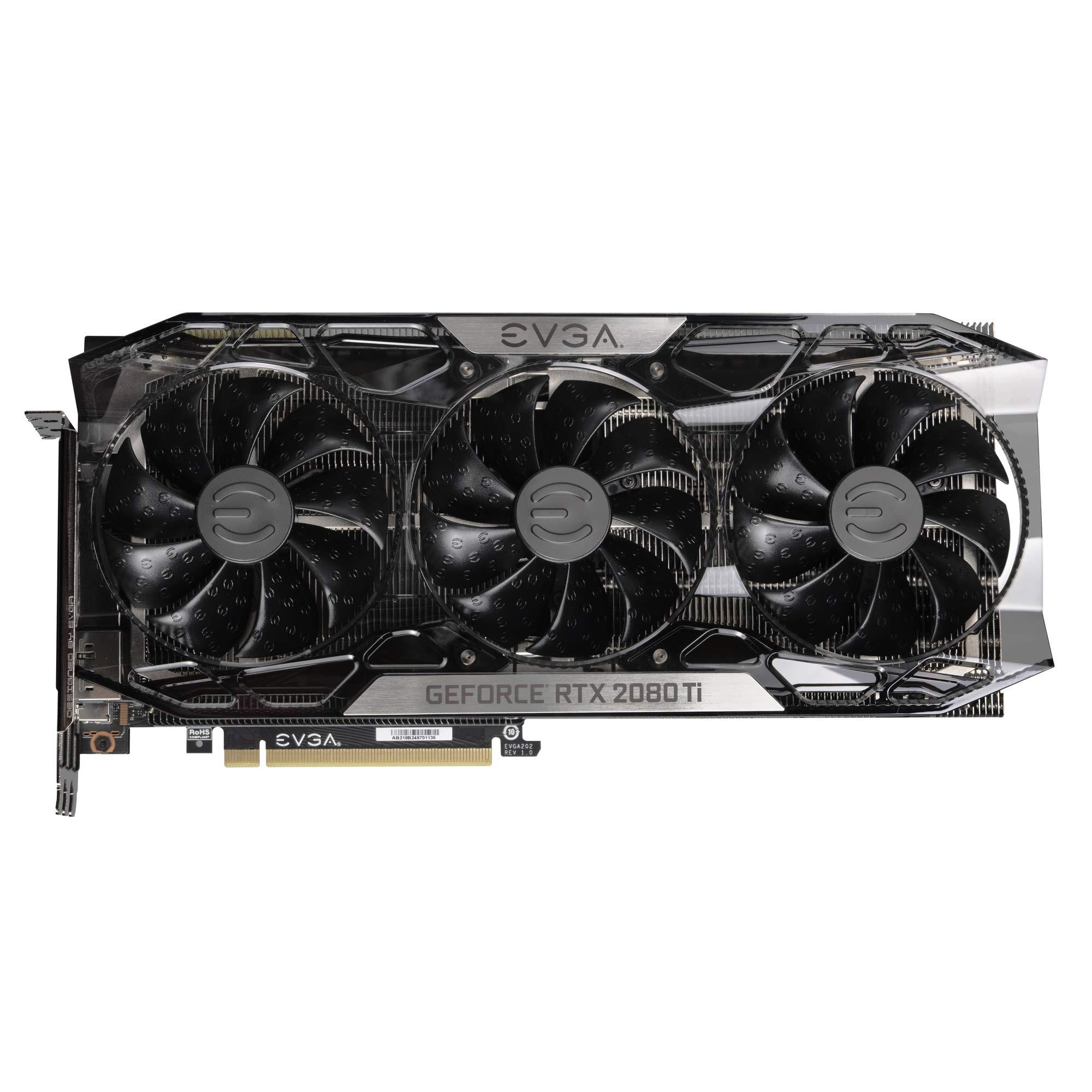 EVGA GeForce RTX 2080 Ti FTW3 Ultra Gaming, 11GB GDDR6, iCX2 & RGB LED Graphics Card 11G-P4-2487-KR by EVGA (Image #3)