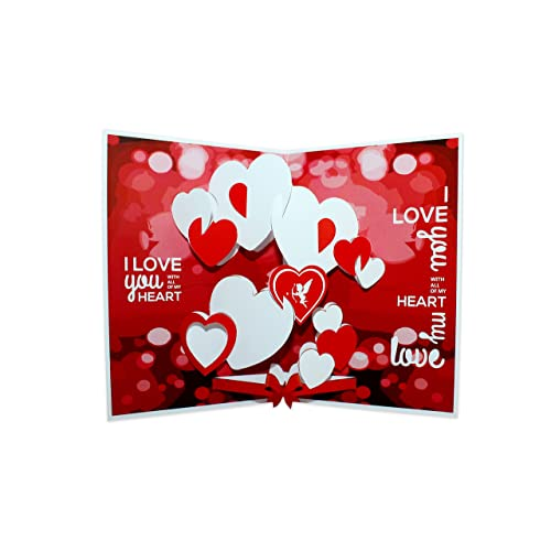 Greeting cards for love buy greeting cards for love online at best suridblue love pop up 3d greeting card m4hsunfo